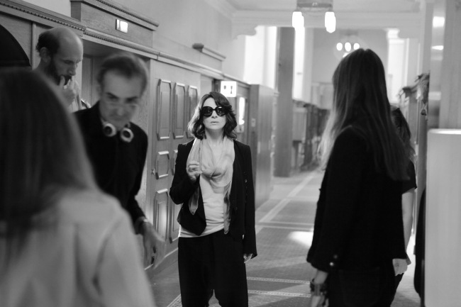 Clouds of Sils Maria, tournage, DR