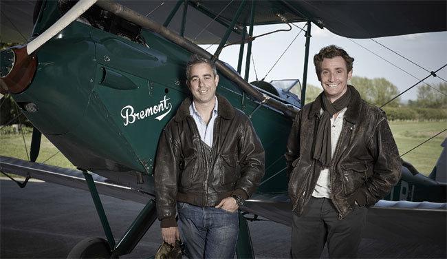 Les frères English, fondateurs de la marque Bremont