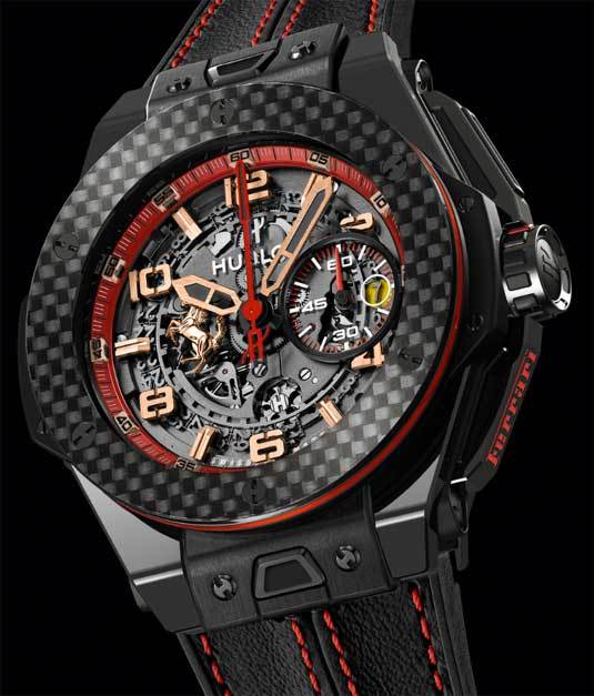 Hublot Big Bang Ferrari Russie