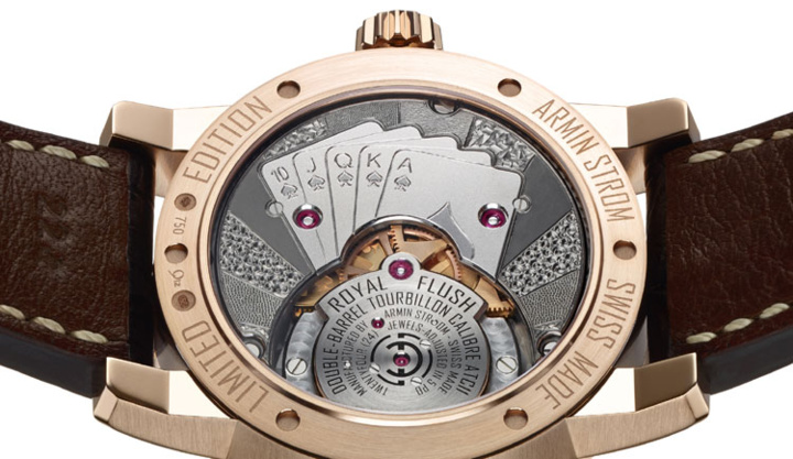 Armin Strom Tourbillon Royal Flush : pièce unique