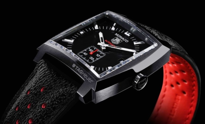 TAG Heuer Monaco 37mm Full Black