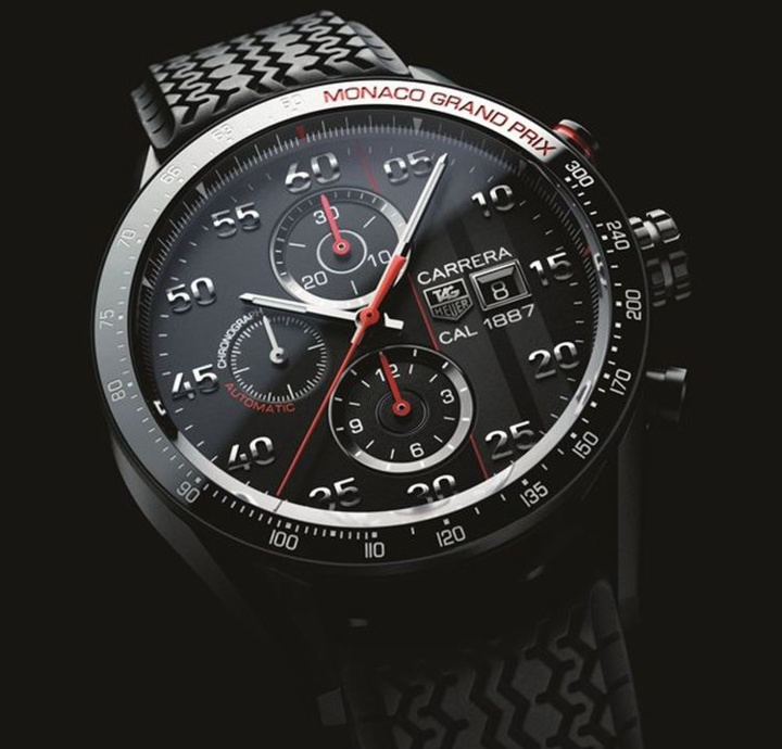TAG Heuer Carrera 43mm Calibre 1887 Chronograph