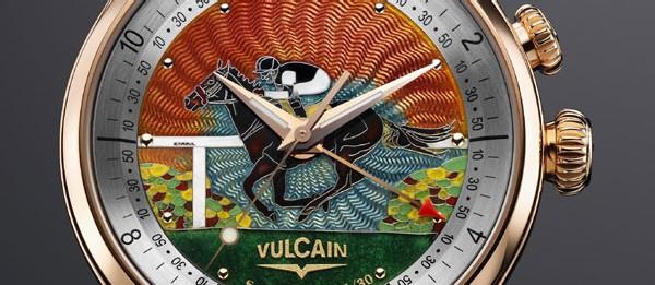 Vulcain « At The Races » : une montre aux couleurs de votre écurie