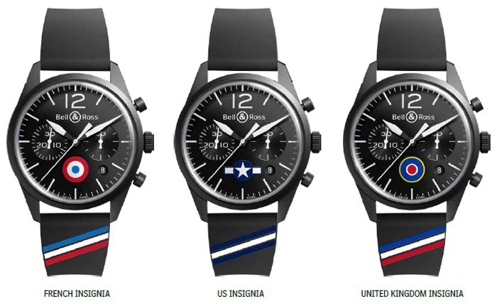 Bell & Ross Vintage BR 126 Insignia : place des Victoires