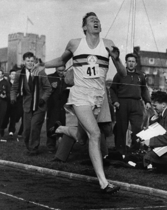 Roger Bannister, ©Getty Images / Norman Potter