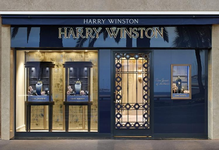 Harry winston cannes croisette for Salon sur la rue