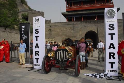 Rally Pékin-Paris : Blancpain récompense les plus valeureux participants