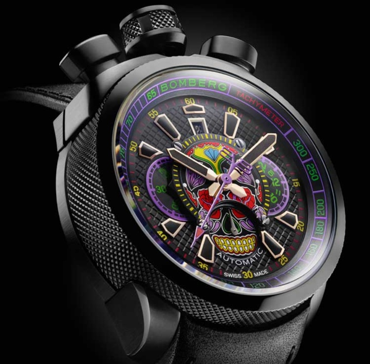 Bomberg Bolt-68 : baroque total !