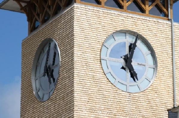 Deauville : inauguration de la tour de « La Résidence de l'horloge »