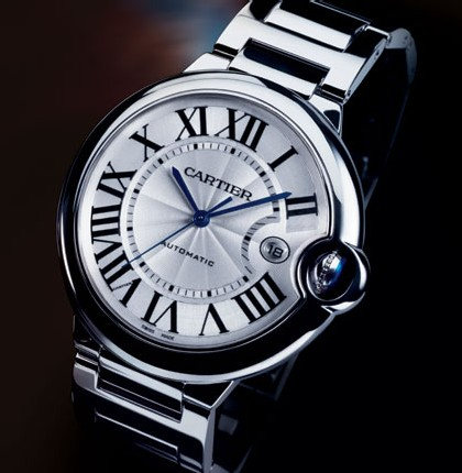 Ballon bleu de Cartier (42 mm) or gris