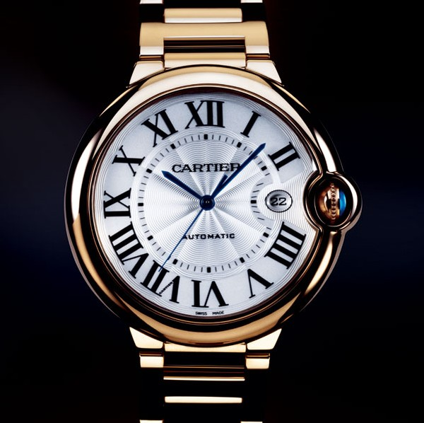 Ballon bleu de Cartier (42 mm) or