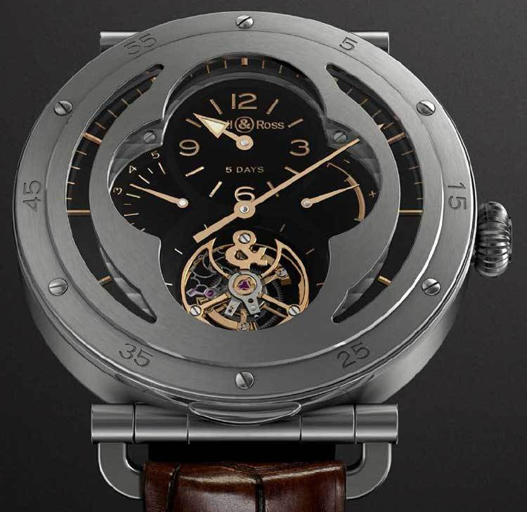 Bell&Ross WW2 Military Tourbillon : tourbillon blindé