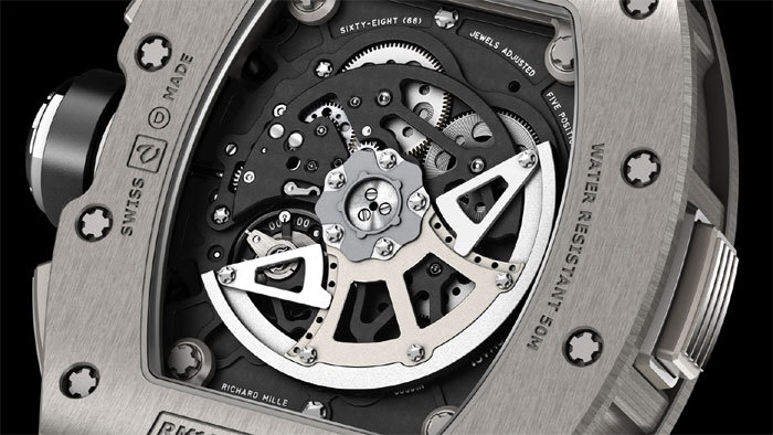 Richard Mille RM 11-02 Chronographe flyback et dual time