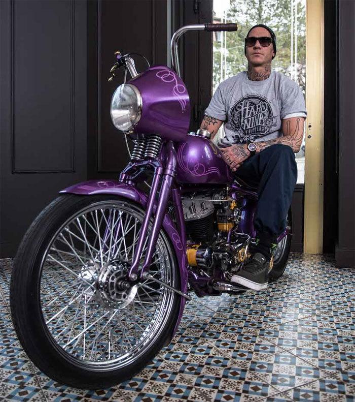RJ-Romain Jerome X HardNine Choppers