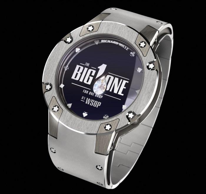 Big One For One Drop 2014 : Richard Mille offre un bracelet en platine