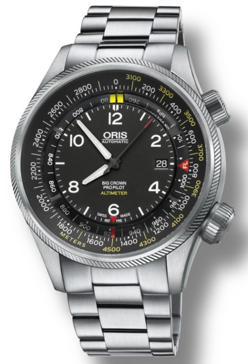 Oris Big Crown ProPilot Altimeter : montre de pilote avec altimètre mécanique