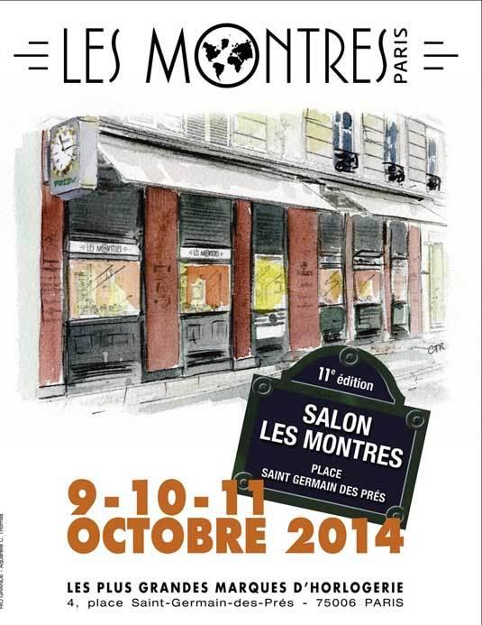 Salon « Les Montres » : 11ème édition du 9 au 11 octobre 2014