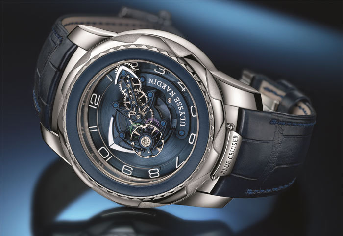 Ulysse Nardin Freak Cruiser : blue mood