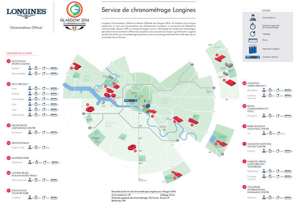 Longines : chronométreur Officiel des 20ème Jeux du Commonwealth