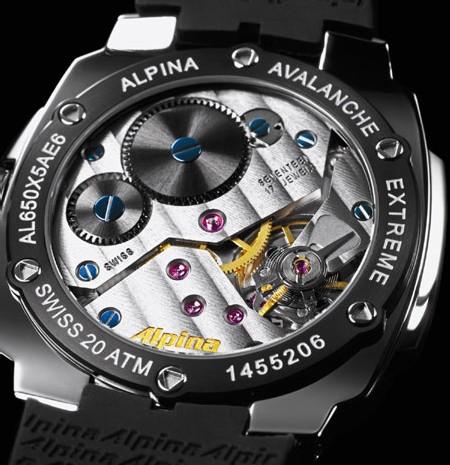 Alpina Avalanche Extrême Régulateur Full Black