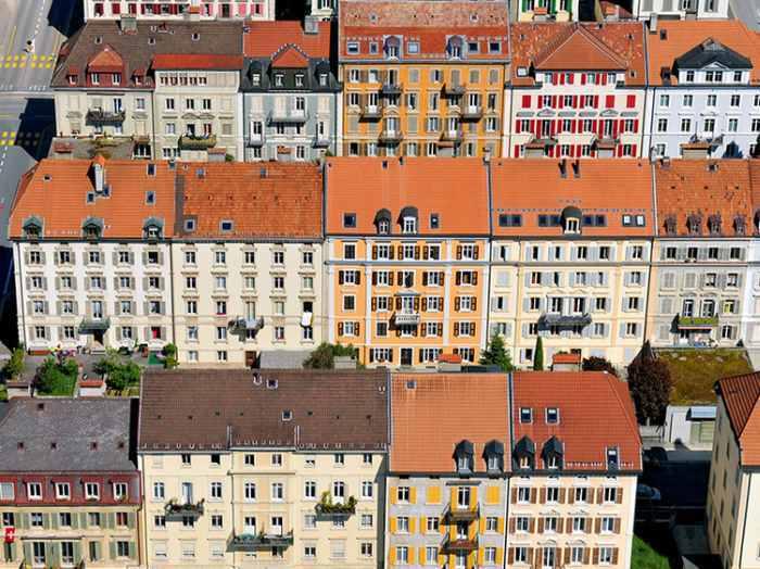Urbanisme horloger, La Chaux-de-Fonds © Ville de La Chaux-de-Fonds / A. Henchoz