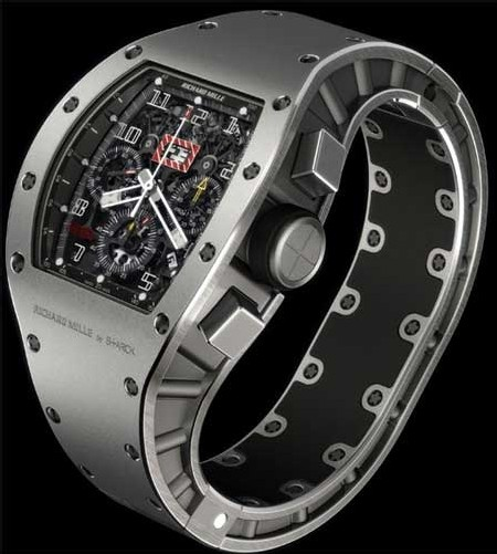 Richard Mille et Philippe Stark pour Only Watch  2007