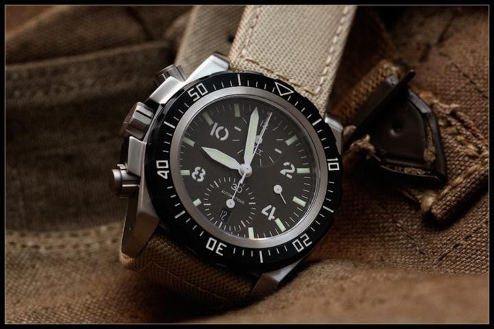MATwatches AG5 CHL Terre : un premier cadran kaki