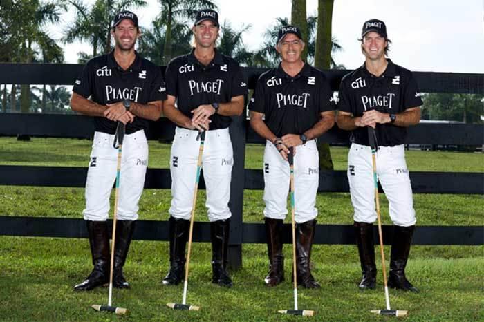 Piaget et sa nouvelle équipe de Polo Ellerstina