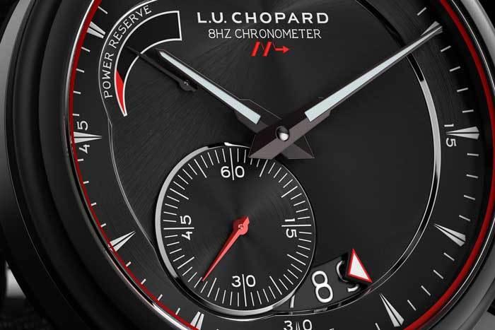 Chopard L.U.C 8HF Power Control : une fréquence deux fois plus élevée pour une sportive confirmée