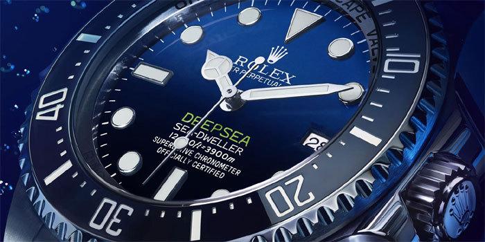 Rolex Deepsea D-Blue : la « James Cameron »