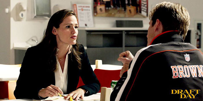 Draft Day, Jennifer Garner, DR