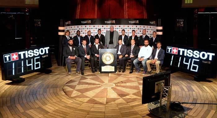 Tissot : Chronométreur Officiel du TOP 14 de la Ligue nationale de rugby