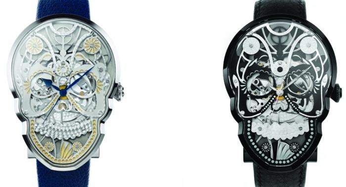 Fiona Krüger et les montres Skull : à découvrir chez Chronopassion à Paris