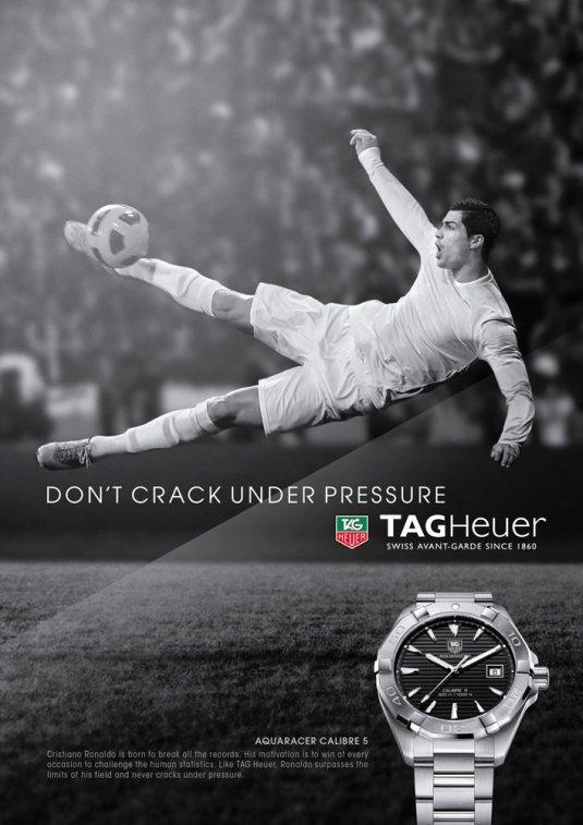 Don't Crack under pressure Cristiano Ronaldo