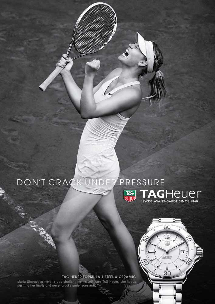 Don't Crack under pressure, Maria Sharapova
