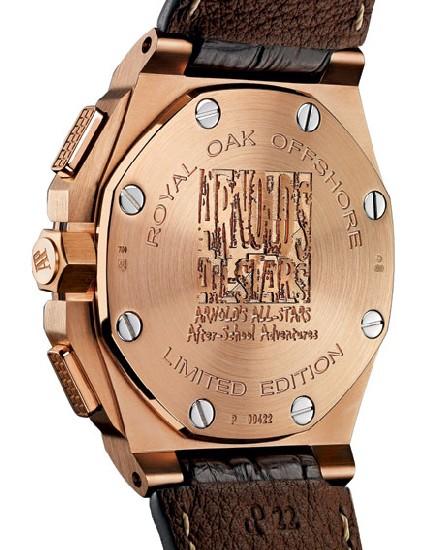 Royal Oak Offshore Arnold's All-Stars : en hommage à la fondation d'Arnold Schwarzenegger