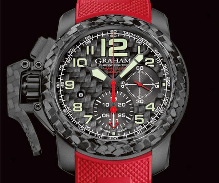 Graham Chronofighter Oversize Superlight Carbon