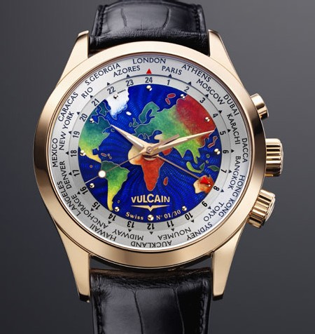 Aviator GMT Edition Limitée « The World »