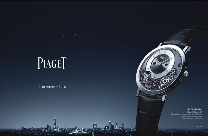 Perfection in Life : nouvelle campagne de communication Piaget