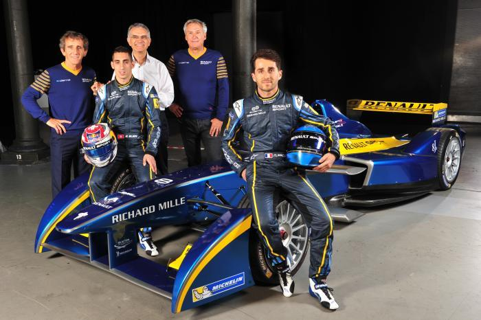 Formule E : Richard Mille, partenaire de l'écurie E.Dams-Renault