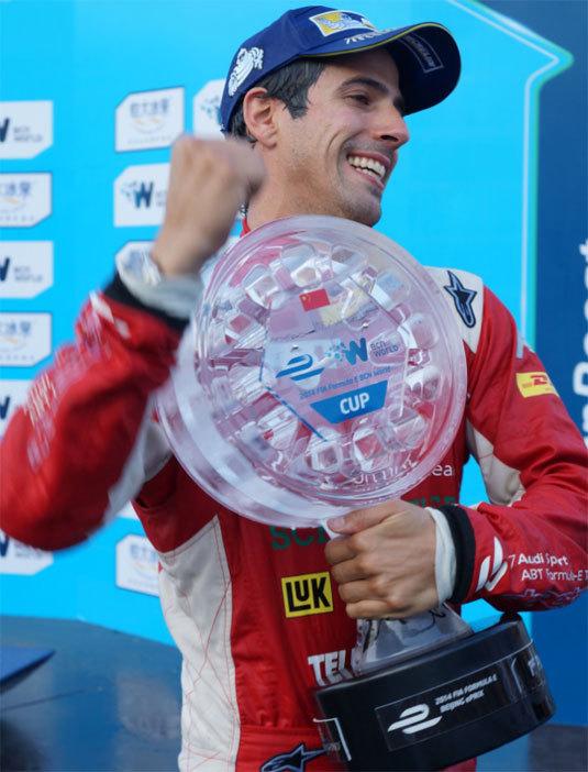 de Grisogono imagine le trophée des Grand Prix de Formule E de la FIA