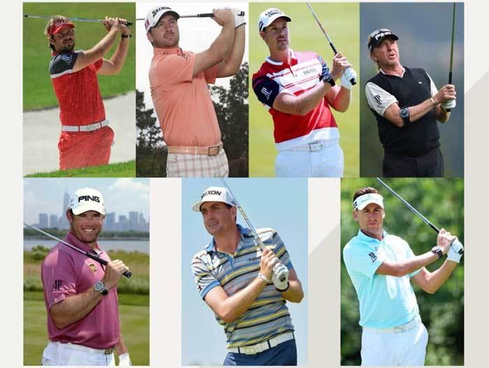 Golf, Ecosse et sept ambassadeurs Audemars Piguet