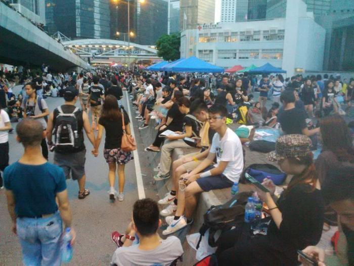 Hong Kong 2014 : la Révolution des parapluies