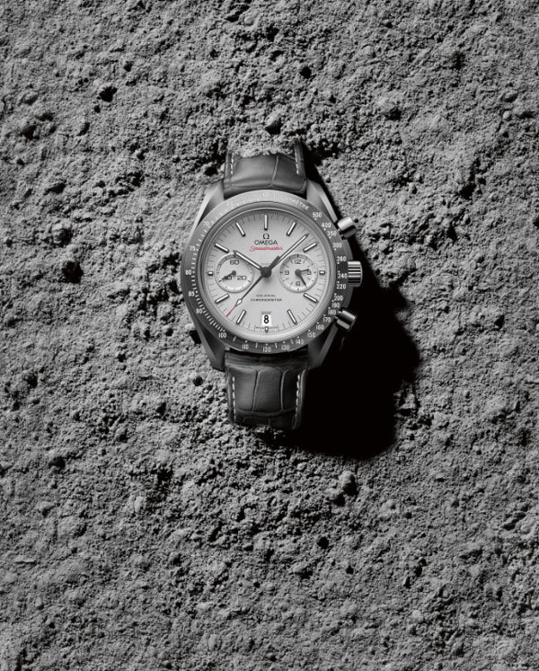 Omega Speedmaster Grey Side of the Moon : céramique et platine… 50 shades of grey