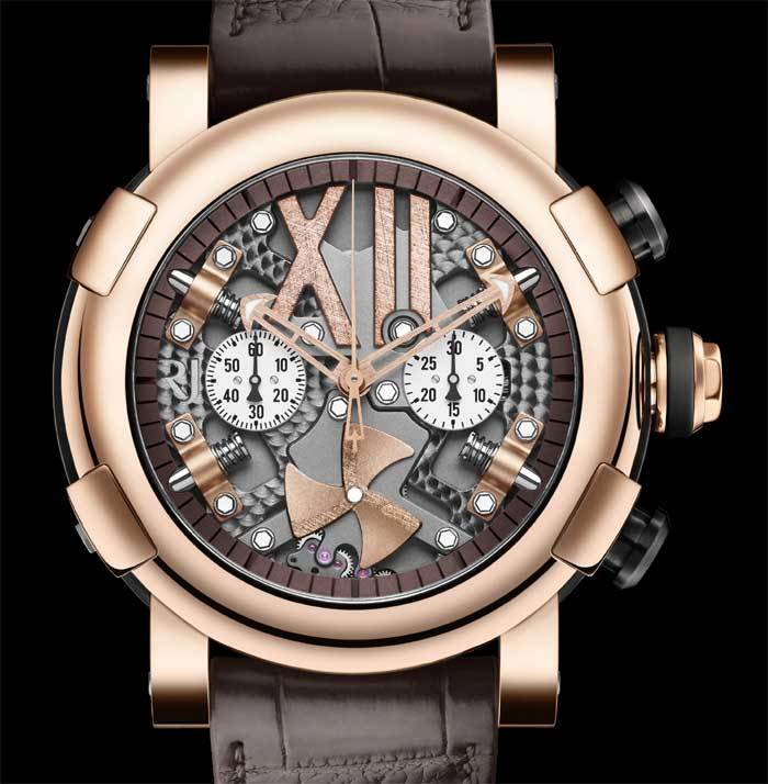 RJ-Romain Jerome Steampunk Full Red