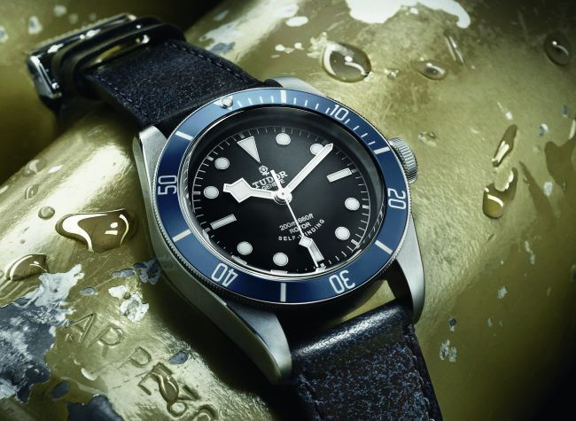 Tudor Heritage Black Bay Blue