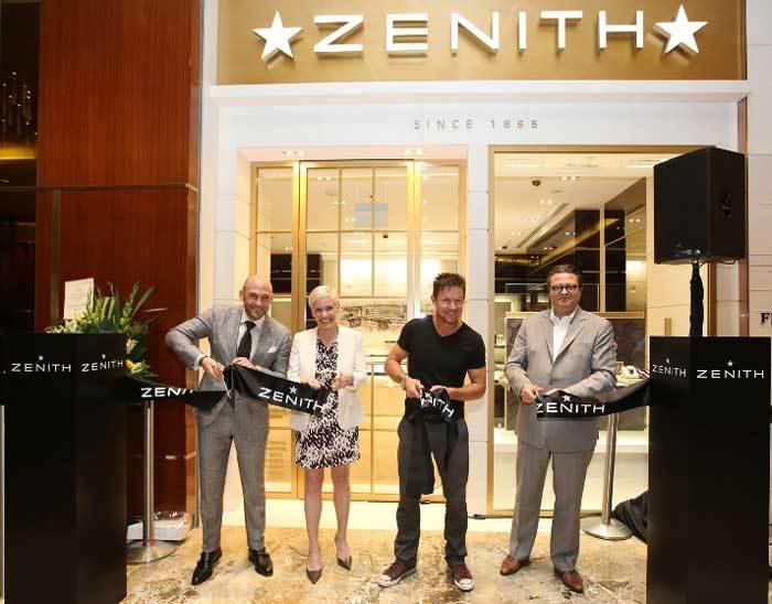 Zenith : ouverture d'une boutique exclusive au Marina Bay Sands de Singapour