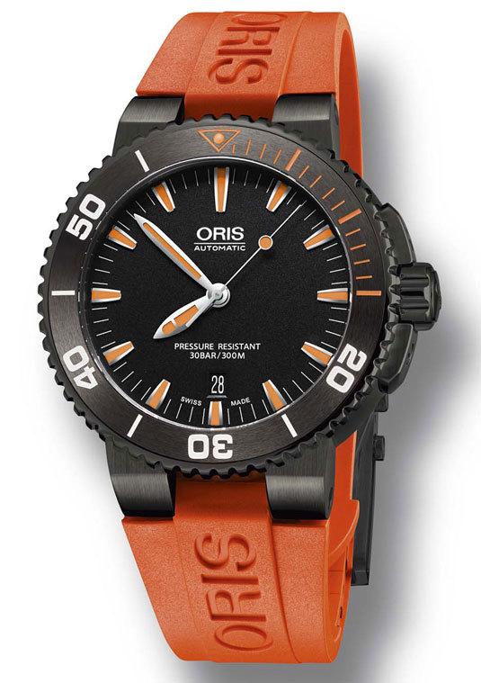 oris - Oris Aquis Date Orange  7077290-10834111