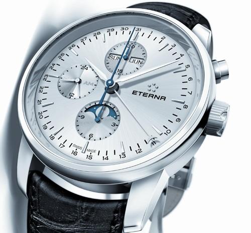 Eterna chronographe « Soleure à phases de lune »