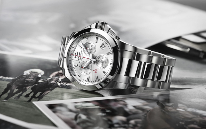 Longines Conquest 1/100th Horse Racing